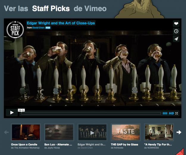 Vimeo, el lugar al que pertenecen tus vídeos